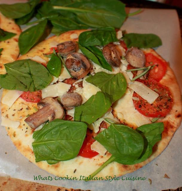 Healthy Pita Pizza Recipe