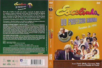 Série Escolinha do Professor Raimundo - Turma de 1991 DVD Capa