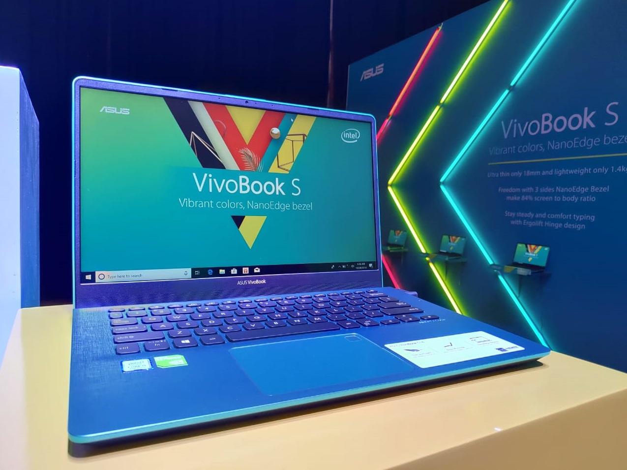 ASUS VivoBook S, Laptop Powerful dengan NanoEdge Display dan ErgoLift Design