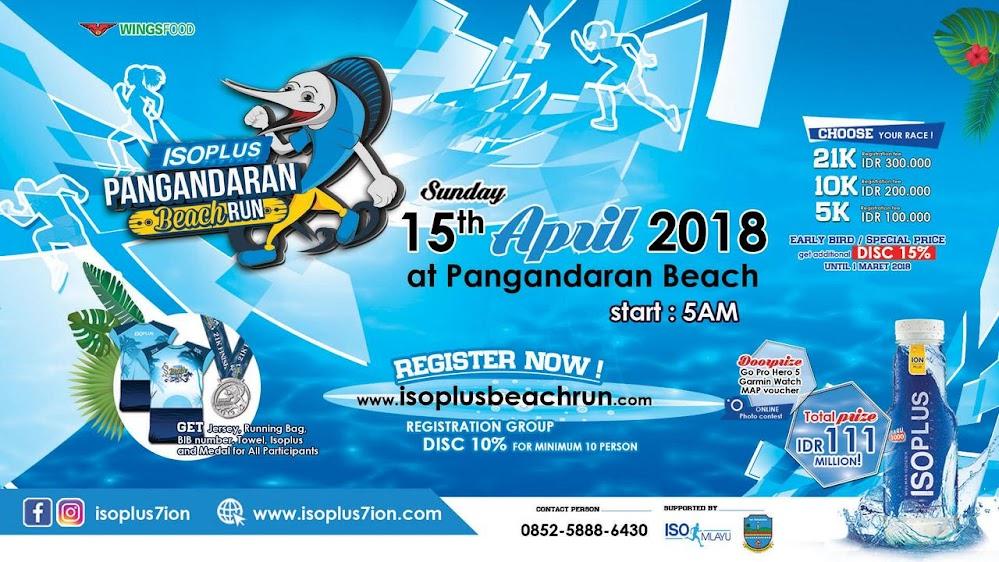 Isoplus Pangandaran Beach Run • 2018
