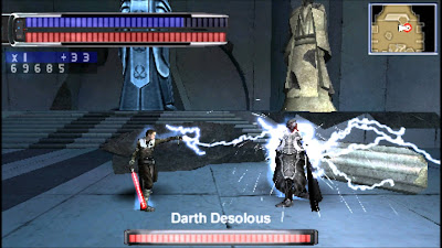 Download Star Wars - The Force Unleashed Game PSP for Android - www.pollogames.com