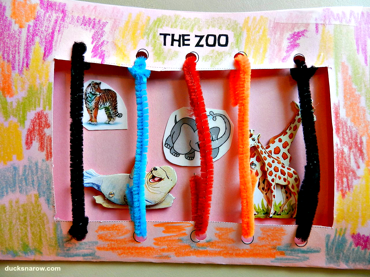 Preschool Circus Animal Crafts