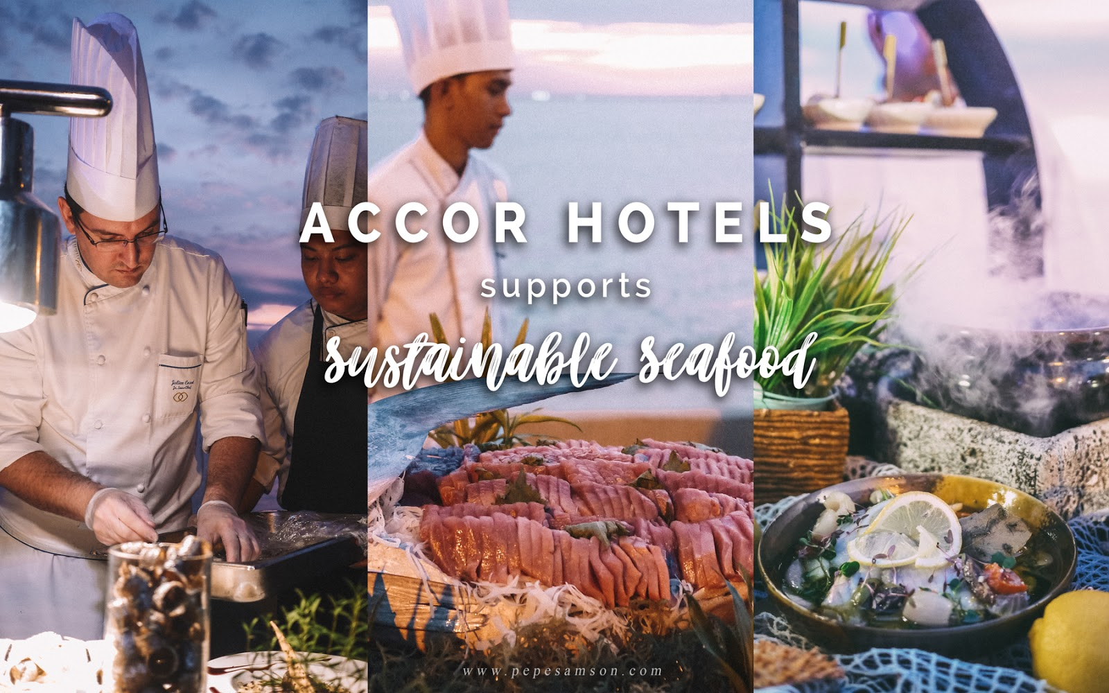 AccorHotels Supports Sustainable Seafood
