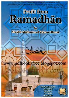 Profit From Ramadhan By Muhammad Saleem Dhorat Pdf Free Download