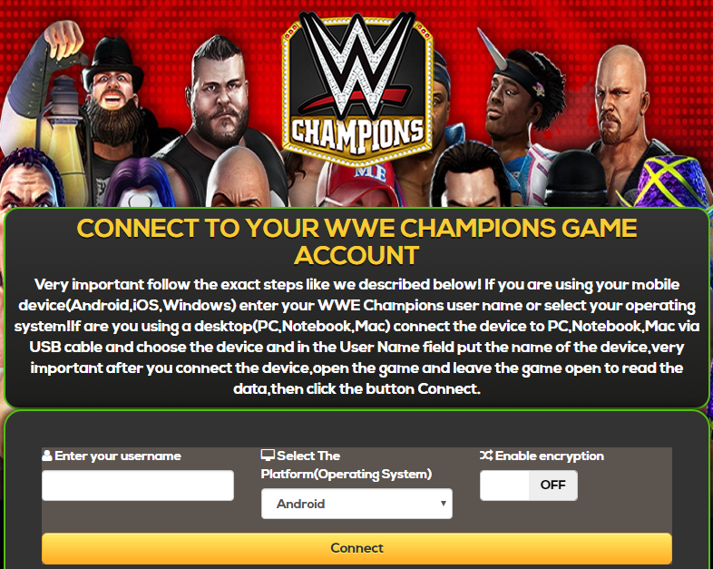 WWE Champions Hack & Cheat Tools, Unlimited energy, ios or android