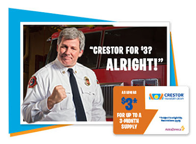 Image: free Crestor Savings Card