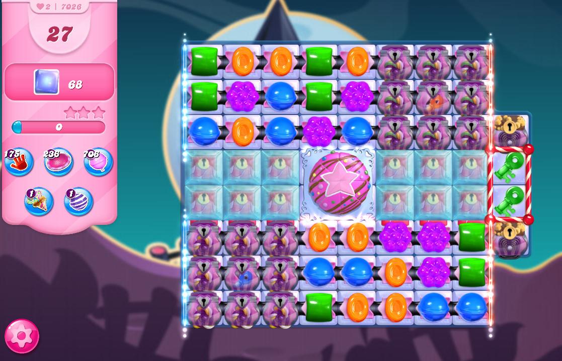 Candy Crush Saga level 7026