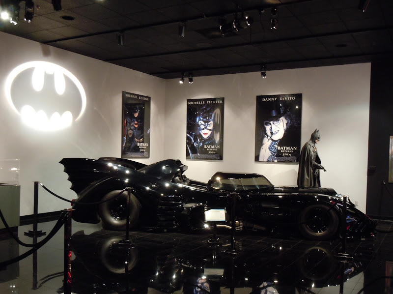 Batman 1989 Batmobile exhibit