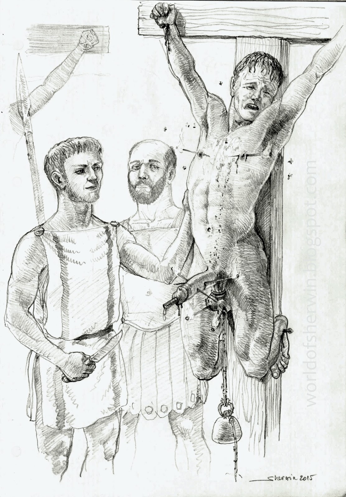 Gay bondage art