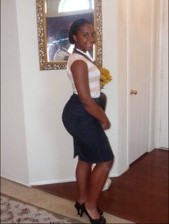 You Won't Believe How Massive This Lady's Backside Now Looks Like 10-Years After (Photos)