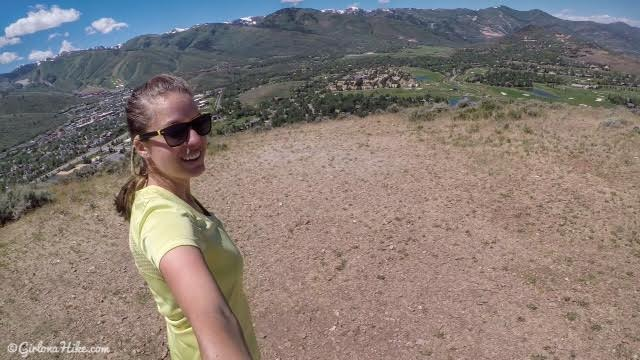 Hiking PC HIll in Park City, Utah, Easy hikes in Park City, Utah, Hiking in Park City with Dogs