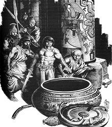 Isten a szarkofágban Conan novella