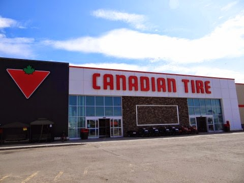 Walkabout With Wheels Blog The Canadian Tire Store In