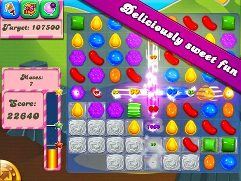 Candy Crush saga - Facebook'ta En Çok Oynanan Oyunlar