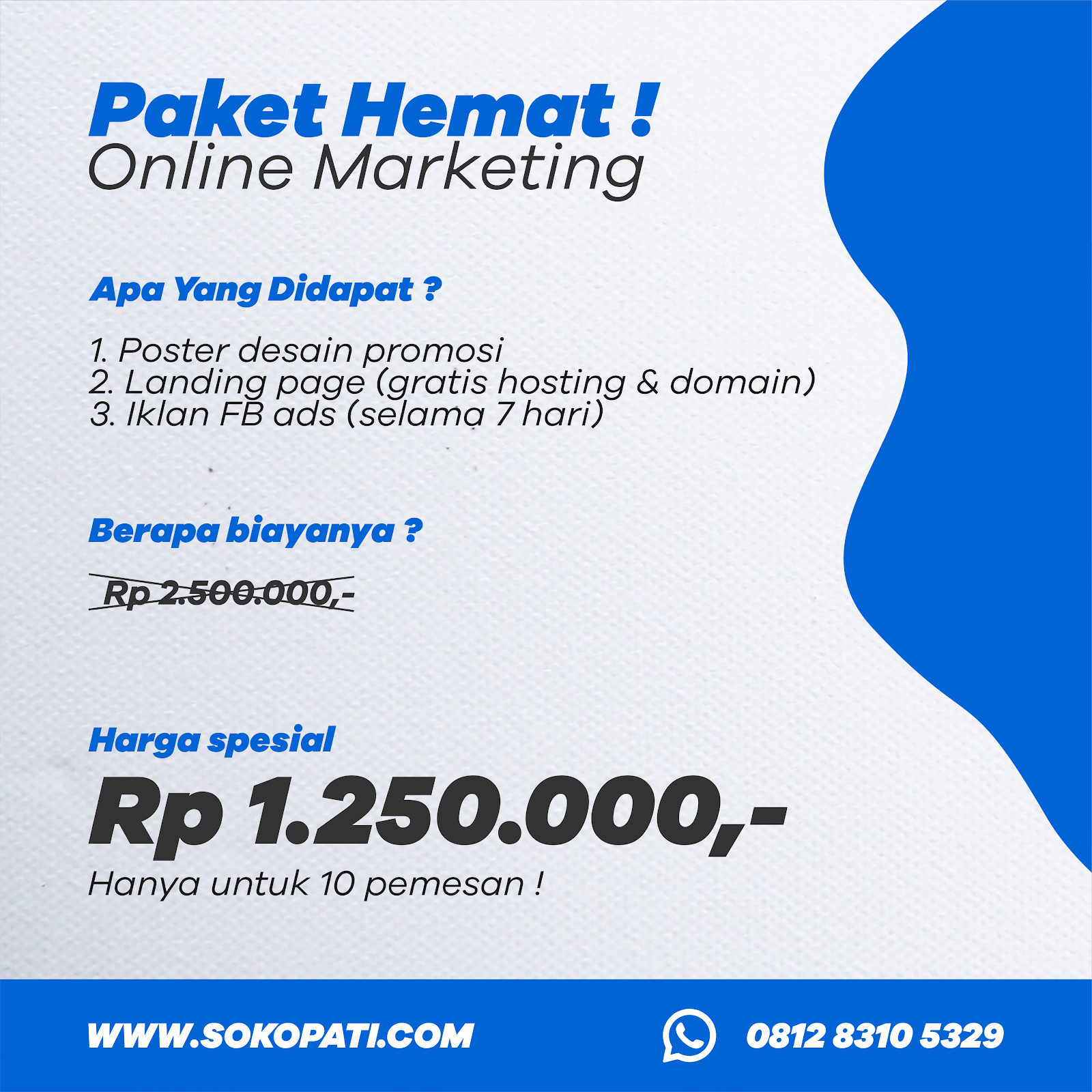 Paket Online Marketing