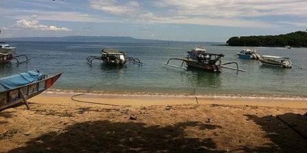 padang bai wisata pantai bali