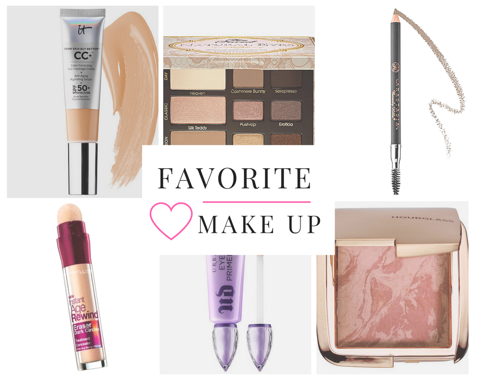 make up favorites