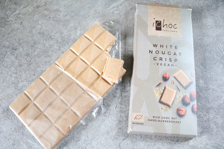 iChoc White Nougat Crisp review