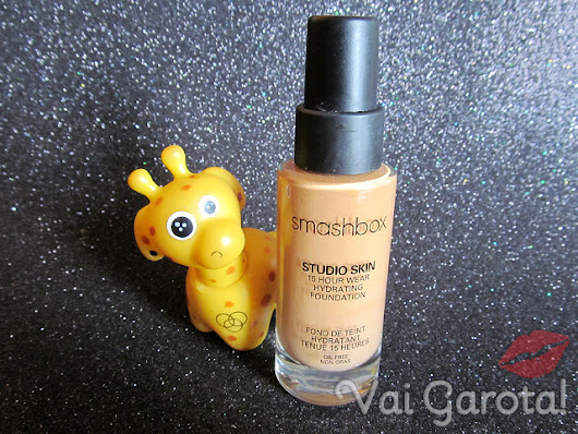Eu Testei: Base Studio Skin 15 Hour Wear Hydrating Foundation - Smashbox