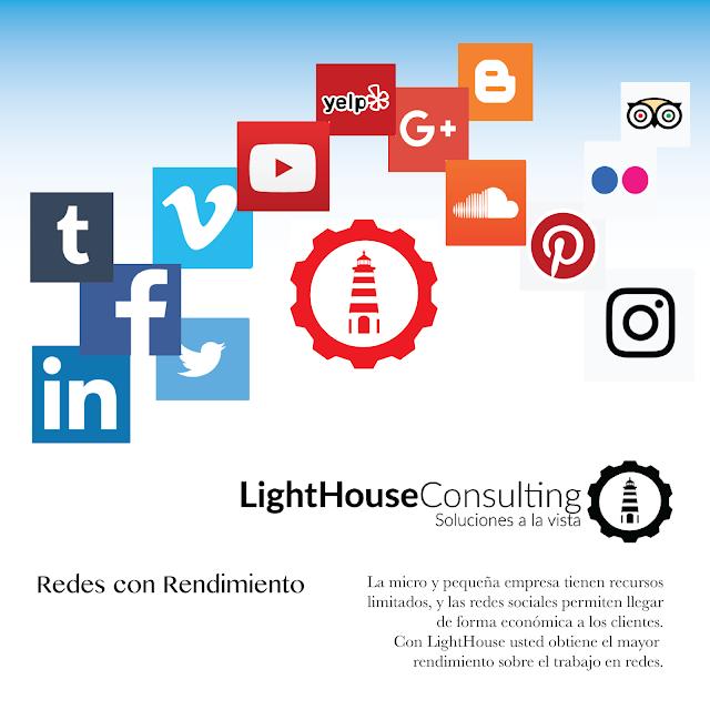LightHouse Consulting ayuda para la microempresa y pequeña empresa en redes sociales