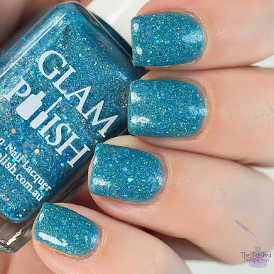 glam polish the wrong alice swatch