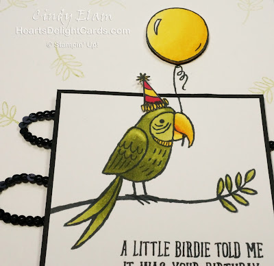 Heart's Delight Cards, Bird Banter, Birthday Card, Stampin' Up!, Occasions 2018,