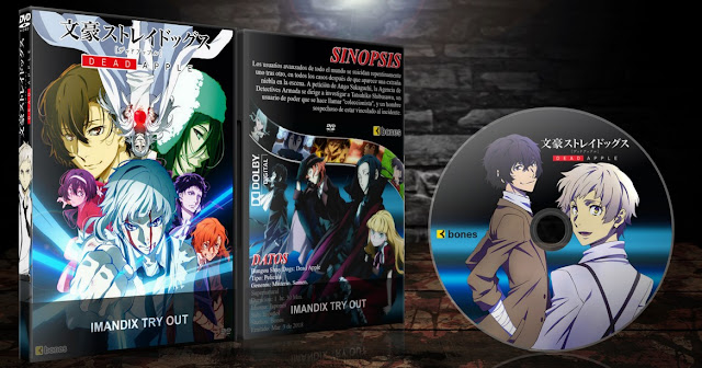 Bungou Stray Dogs: Dead Apple | Cover DVD |