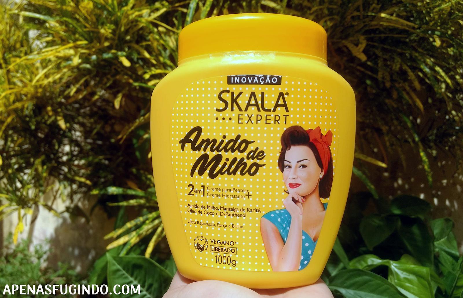 Creme de tratamento Skala Expert Amido de Milho