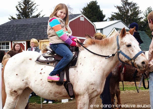 horseback riding for the kids