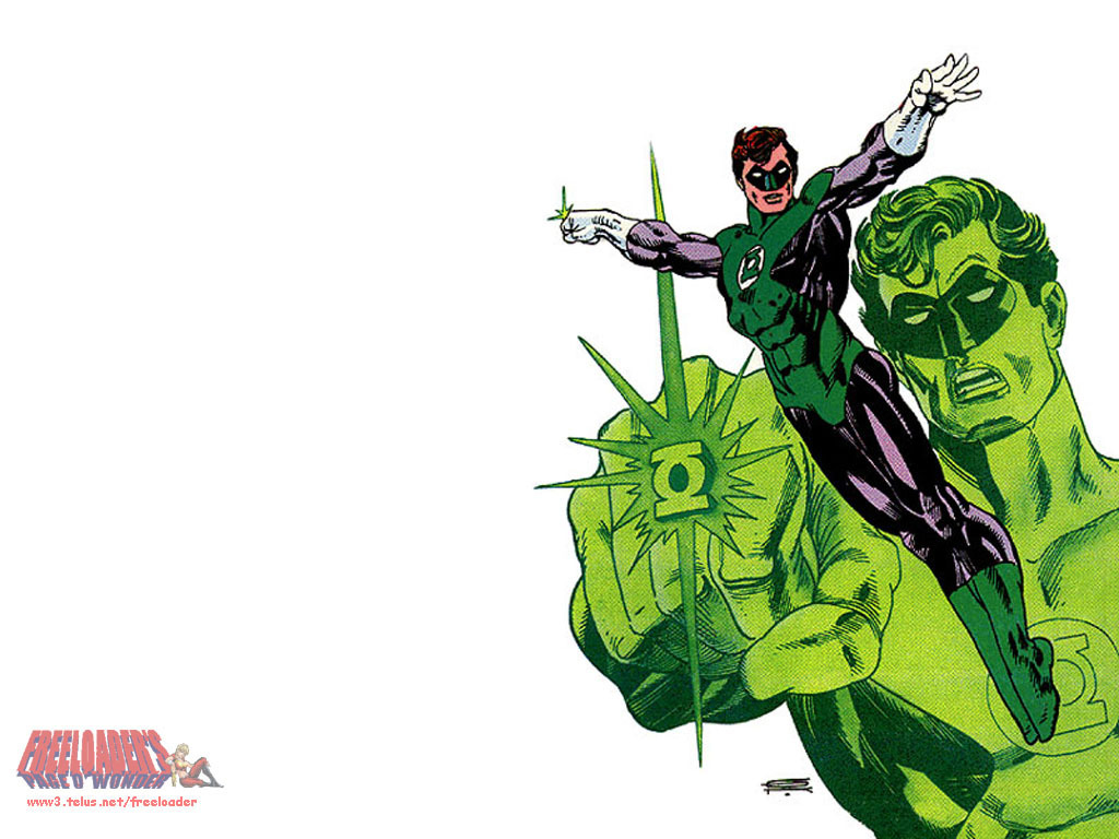 Green Lantern Comic Wallpaper: Mr. Morbid's House Of Fuckery: So, Who Would Win?: Green