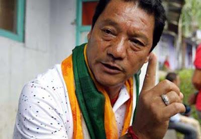 Bimal Gurung Gorkha Janmukti Morcha chief