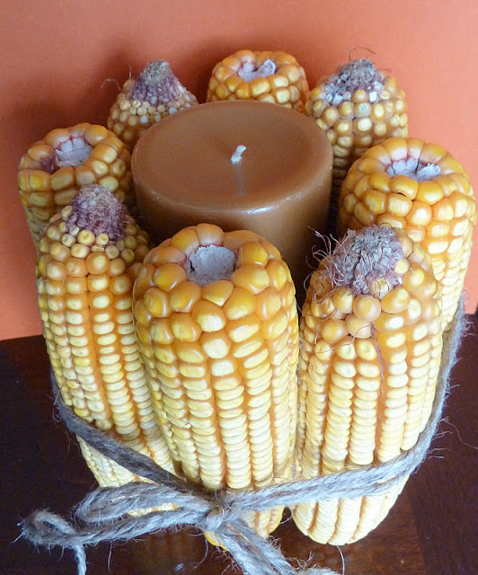 corn01 Thanksgiving Candles 18
