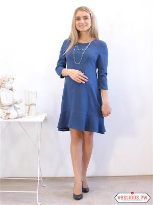 vestidos para embarazadas con botines