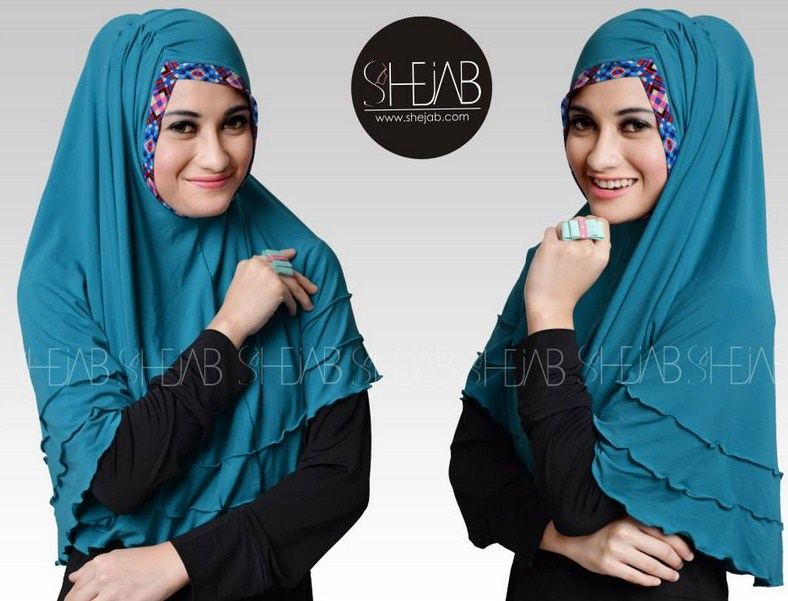 trend fashion hijab lebaran model terbaru