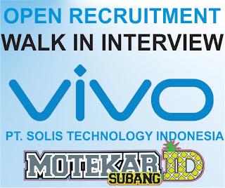 Info Loker VIVO Walk in Interview Cikarang Maret 2019