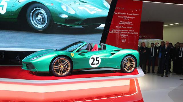 フェラーリ、創立70周年を記念し70種類の特別モデル「アウトフィット」を発表。