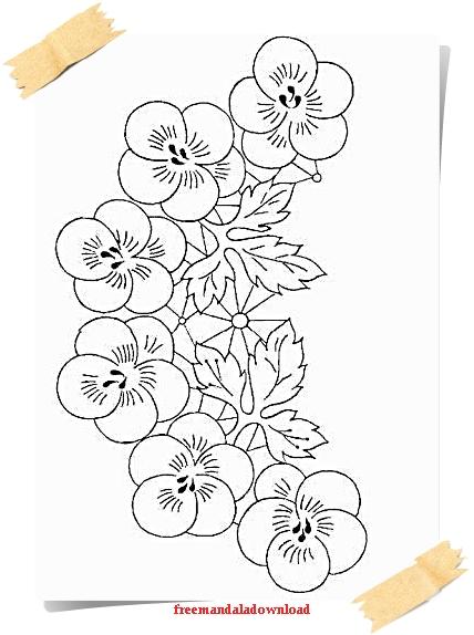 Ungewöhnlich Erwachsene Malvorlagen Blumen Bilder ...