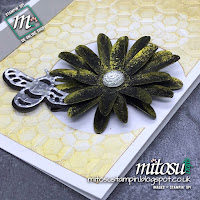 Stampin' Up! Card Idea using Shimmer Paints. Order current cardmaking products from Mitosu Crafts UK Online Shop