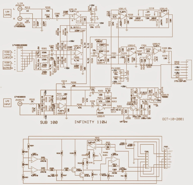 Infinity Amplifiers In Chrysler Cars Repair Guide