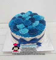 Birthday Cake Tema Bunga-Bunga