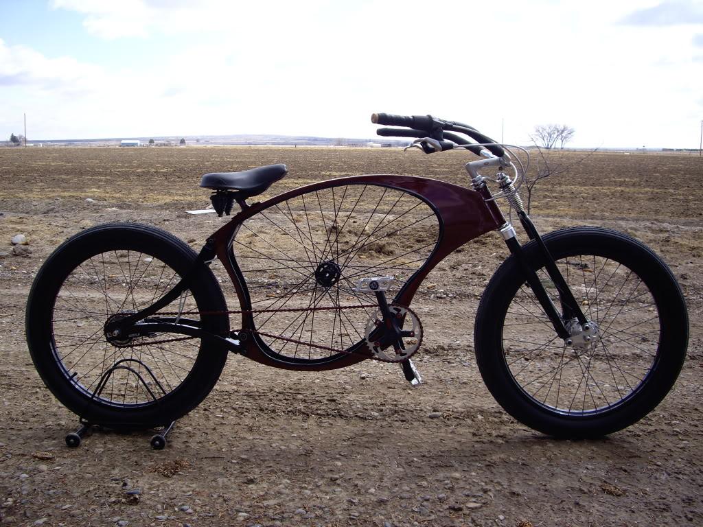 Monark Style Dual Springer Forks: Custom Bikes