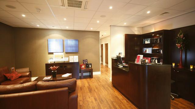 Spa reception area, Bannatynes Hastings