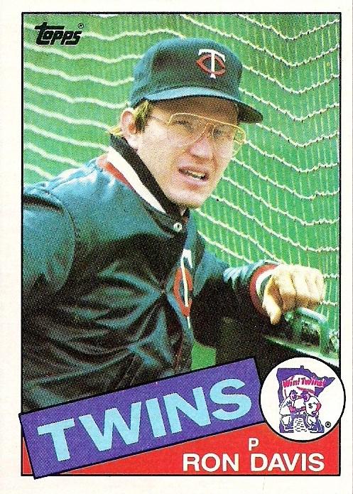 1985 Topps 430 Ron Davis