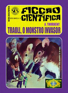 bolsilivro sos ficção científica cedibra série amarela thorkent traoll monstro invasor