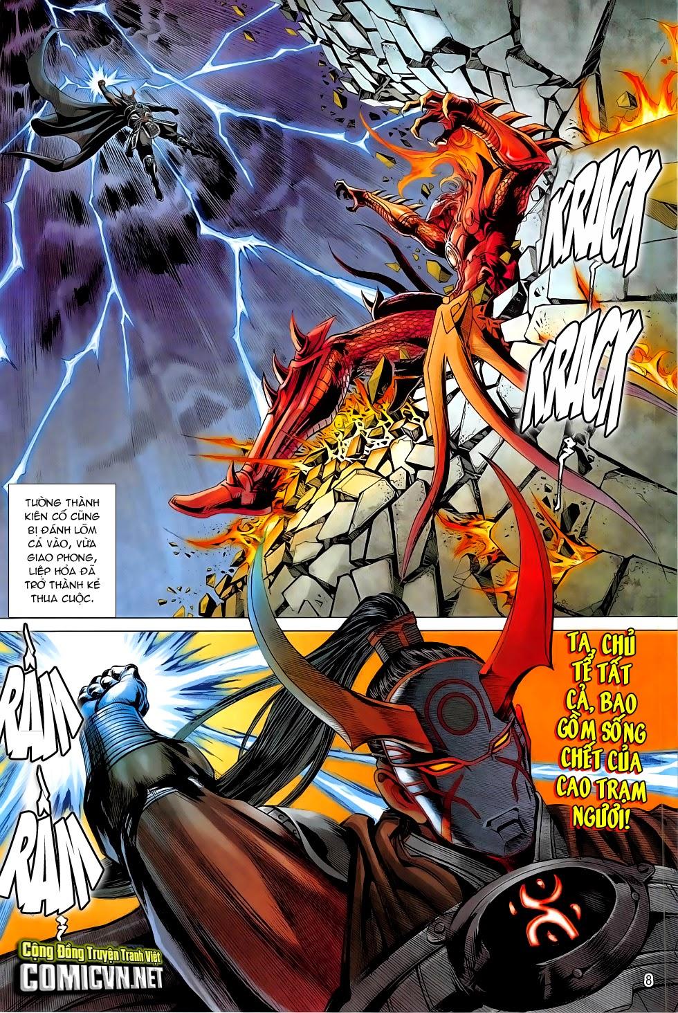 Chiến Phổ chapter 5: lôi hỏa kinh thiên chiến trang 8