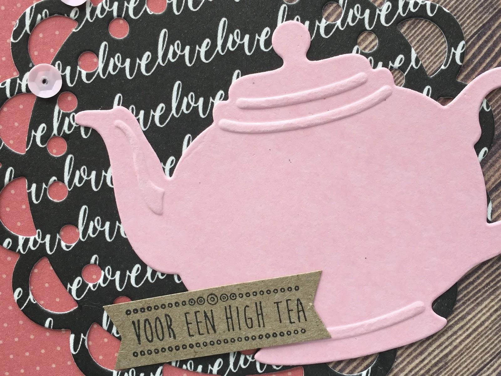 Wonderbaarlijk LindaCrea: Let's Have Some Tea #6 EJ-67