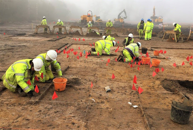 Figure of medieval demon found under Lincoln's Eastern Bypass site