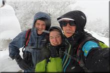 Itxogana mendiaren gailurra 1.063 m. -- 2018ko otsailaren 3an