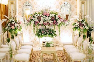 dekorasi pernikahan unik terbaru