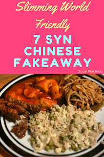 Chinese fakeaway slimming world recipes